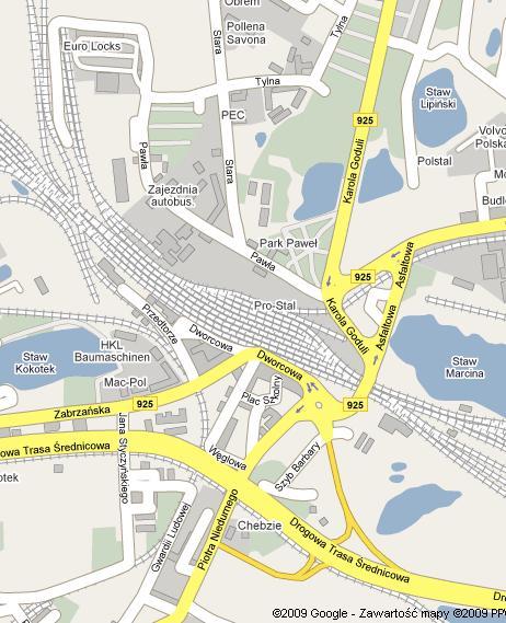Chebzie Mapa