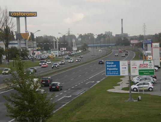 Chorzów Drogowa Trasa Średnicowa