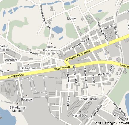 Lipiny Mapa