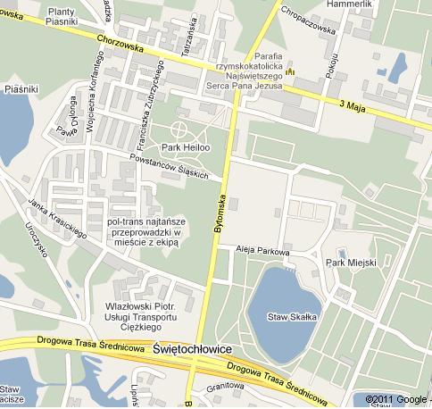 Piaśniki Mapa
